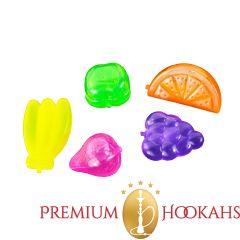Plastic ijsklontje - Fruit