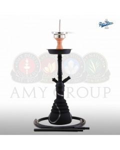 amy deluxe 4star 420 shisha amy deluxe waterpijp zwart