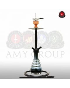 amy 690 city scape zwart zwart amy deluxe waterpijp