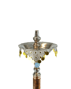 silver turkish tepsi ashtray