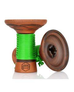 Japona Hookah - Mummy Bowl (Green)