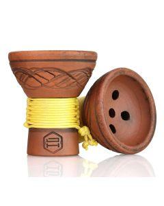Japona Hookah - Turkish Bowl (Yellow)