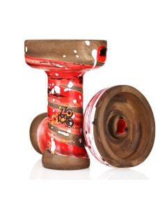 Kong Phunnel bowl - Zomo Edition Clay (Ruby)