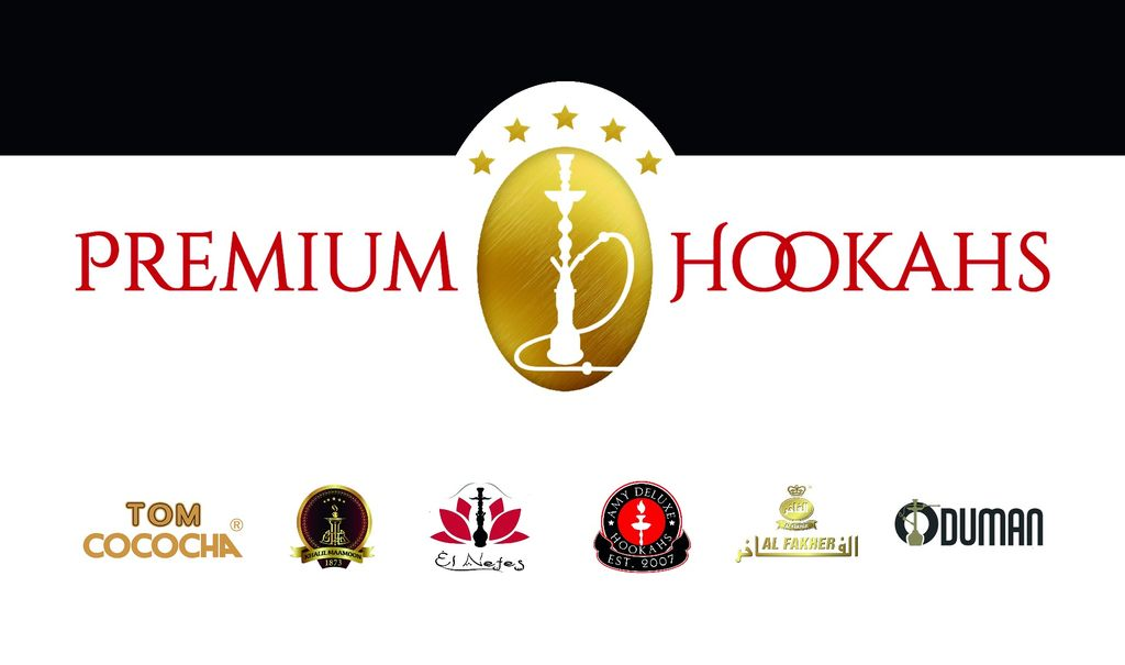 Premium-Hookahs met A merken
