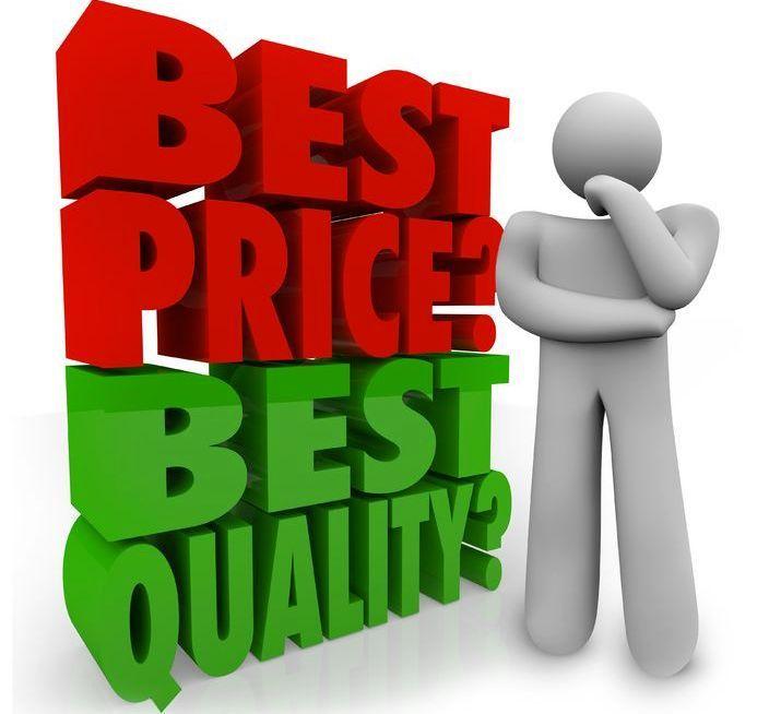 prijs kwaliteit verhouding